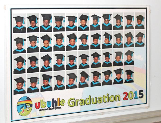 Bildungserfolge werden im Ubuhle besonders wertgeschätzt und zelebriert. So gibt es regelmäßig jährliche Abschlussfeiern (Graduations), z.B. am Ende der Vorschule oder nach jedem höheren Schuljahr.