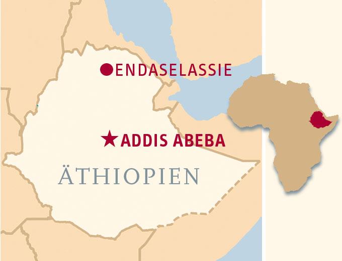 Projektstandort: Endaselassie / Region Tigray in Nord-Äthiopien; Projektpartner: Women's Association of Tigray (WAT); Projektname international: Vocational Training Center (VTC); Projektstart: 22. April 1997