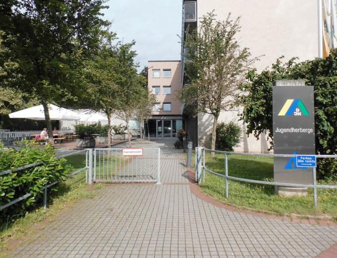 Veranstaltungsort der Kinder- und Jugendfreizeit 2017: Die Jugendherberge in Wiesbaden/ Hessen.