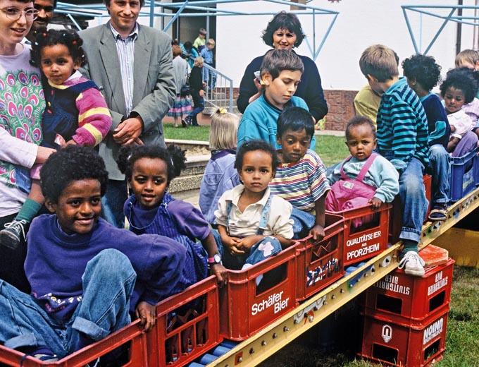 Eltern-Kind-Treffen 1990 in Siegelbach