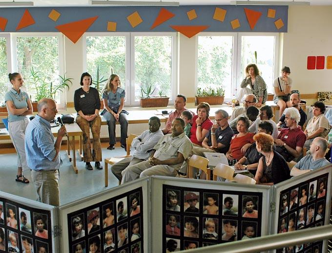 Eltern-Kind-Treffen 2006 in Oberbernhards (Projektpräsentation)