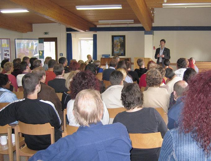 Eltern-Kind-Treffen 2009 in Oberbernhards (Fachreferent)