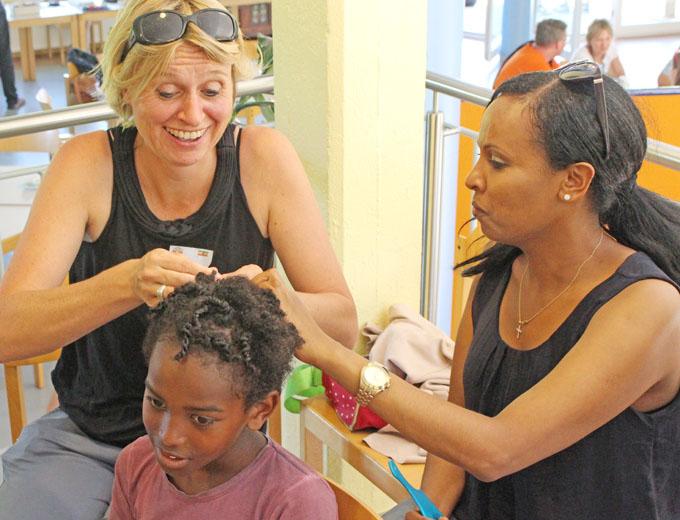 Haarpflege unter DIY-Anleitung.