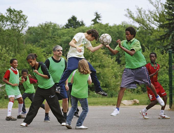 Kinder- und Jugendfreizeit 2011 in Altleiningen (Fußball)