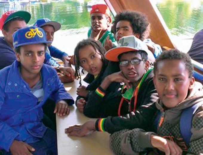 Kinder- und Jugendfreizeit 2013 am Biggesee